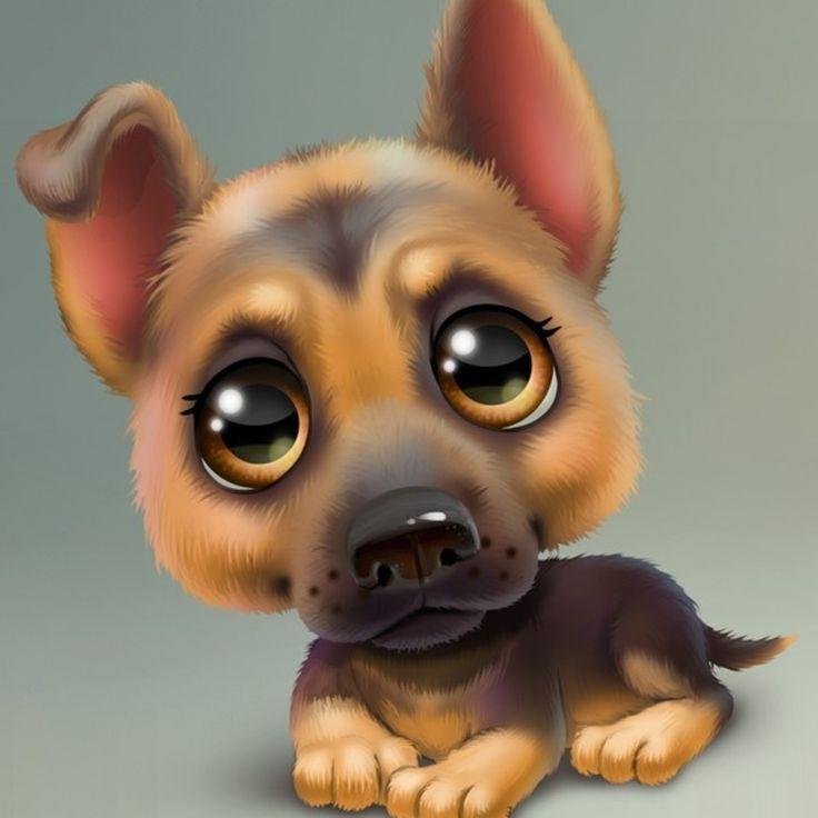 Картинки рисованные с животными красивые и смешные
