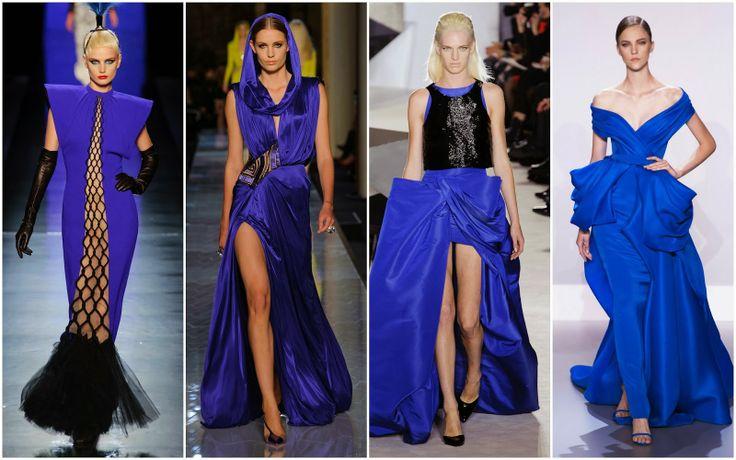 Blue - Beautifully Fierce!: Paris Haute Couture: Spring 2014 Color Trends.