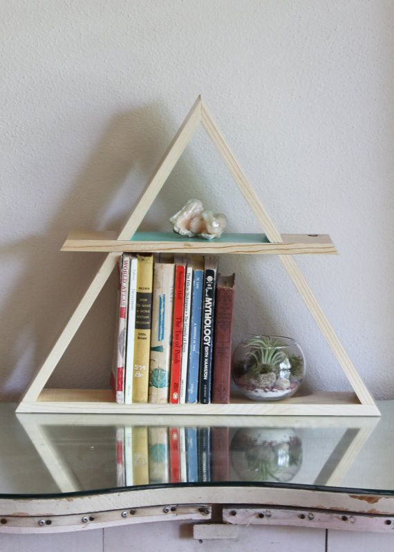 wooden triangle with a circle and line down the middle, DYI Deathly Hallows  sign - 22 Best Pyramids Images On Pinterest Triangles, Triangle Shelf