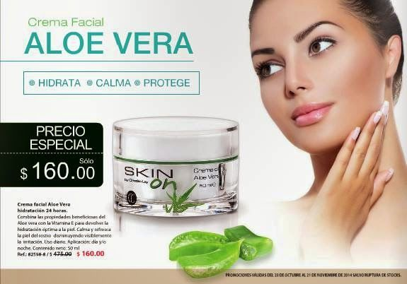 Crema con Aloe Vera en oferta / Cristian Lay C-23 2014 Mexico