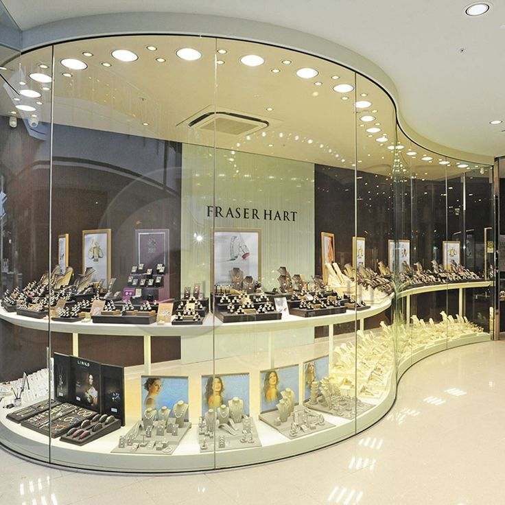 Exhibition Stand Fittings : Fashionable jewelery stores display stand hongjin shop