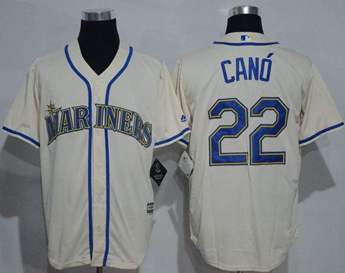 buy seattle mariners robinson cano cream new cool base stitched mlb jersey from reliable seattle mar