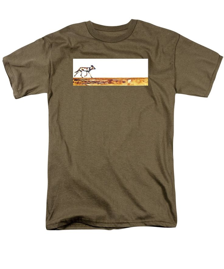Endangered African Wild Dog T-Shirt by Tracey Armstrong