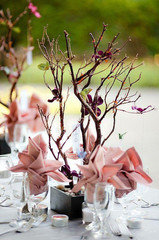 decoration de table mariage ambiance japonaise