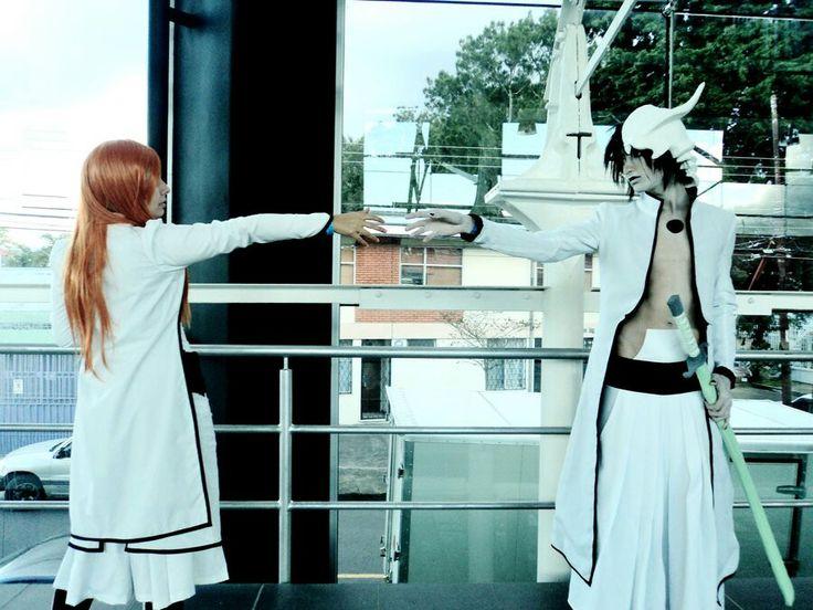 Ulquiorra & Orihime cosplay