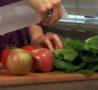 Cómo desinfectar naturalmente Frutas y Hortalizas.