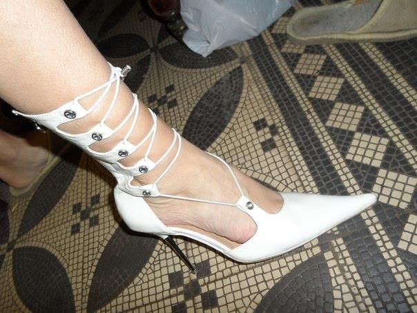 Белые туфли на шпильке продам 41 размер петербург