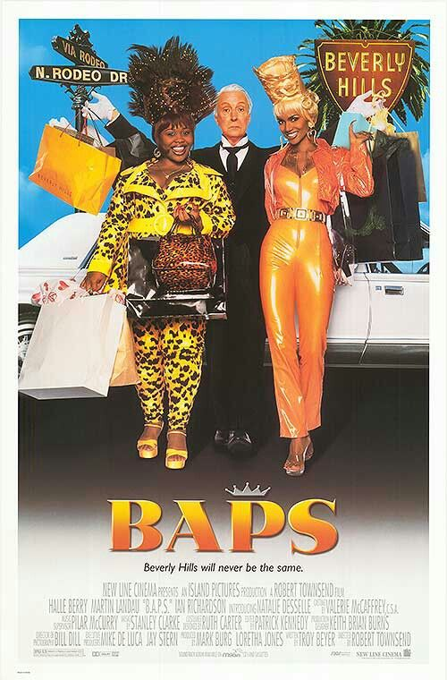 "Halle Berry in ""The Hilarious Comedy"" Baps 1997"