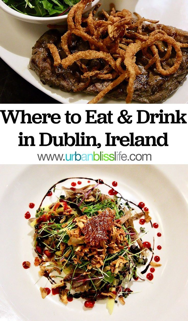 The place to Eat and Drink in Dublin, Eire