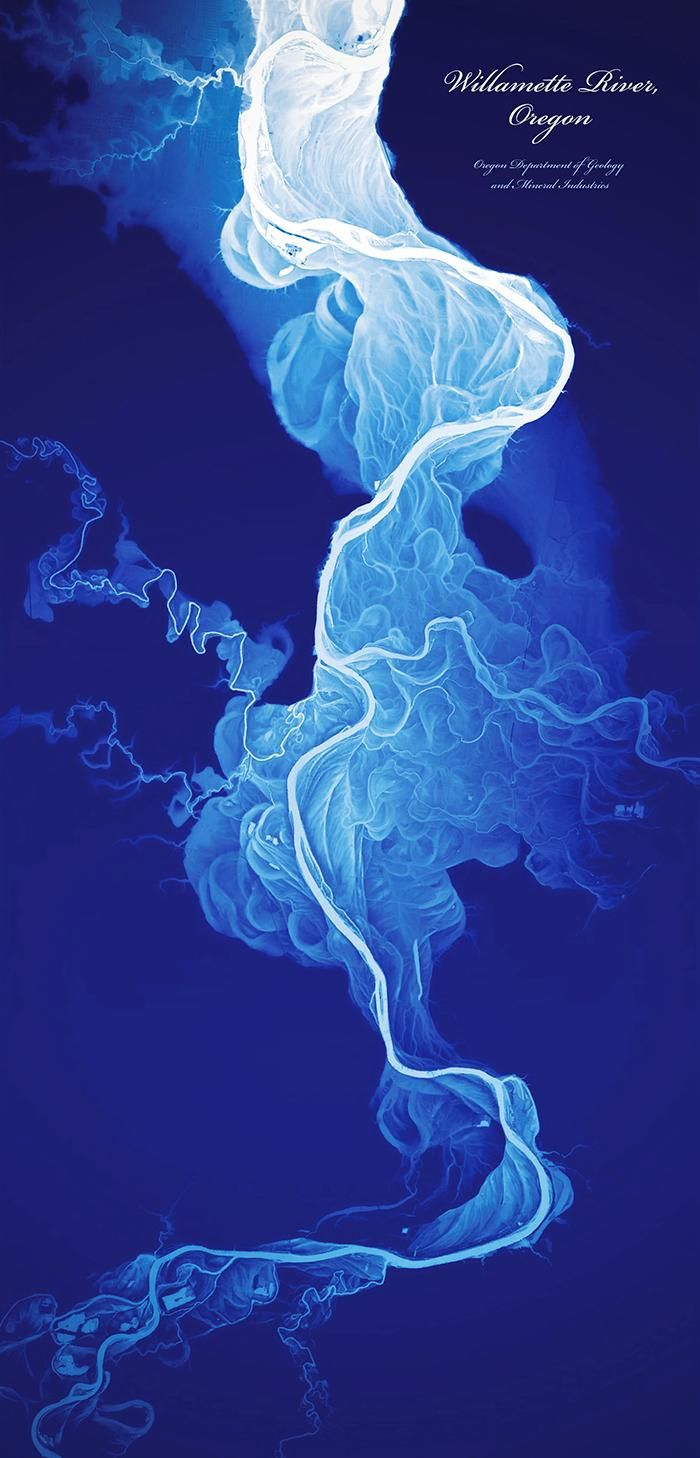 Historical Stream Channels of The Willamette River
