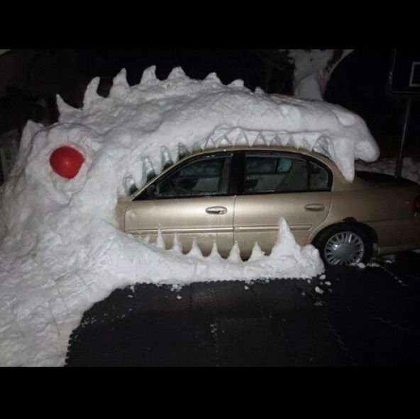 Best Funny Snow Quotes Ideas On Pinterest Funny Saturday - 17 cars turned into art thanks to frosty winter weather