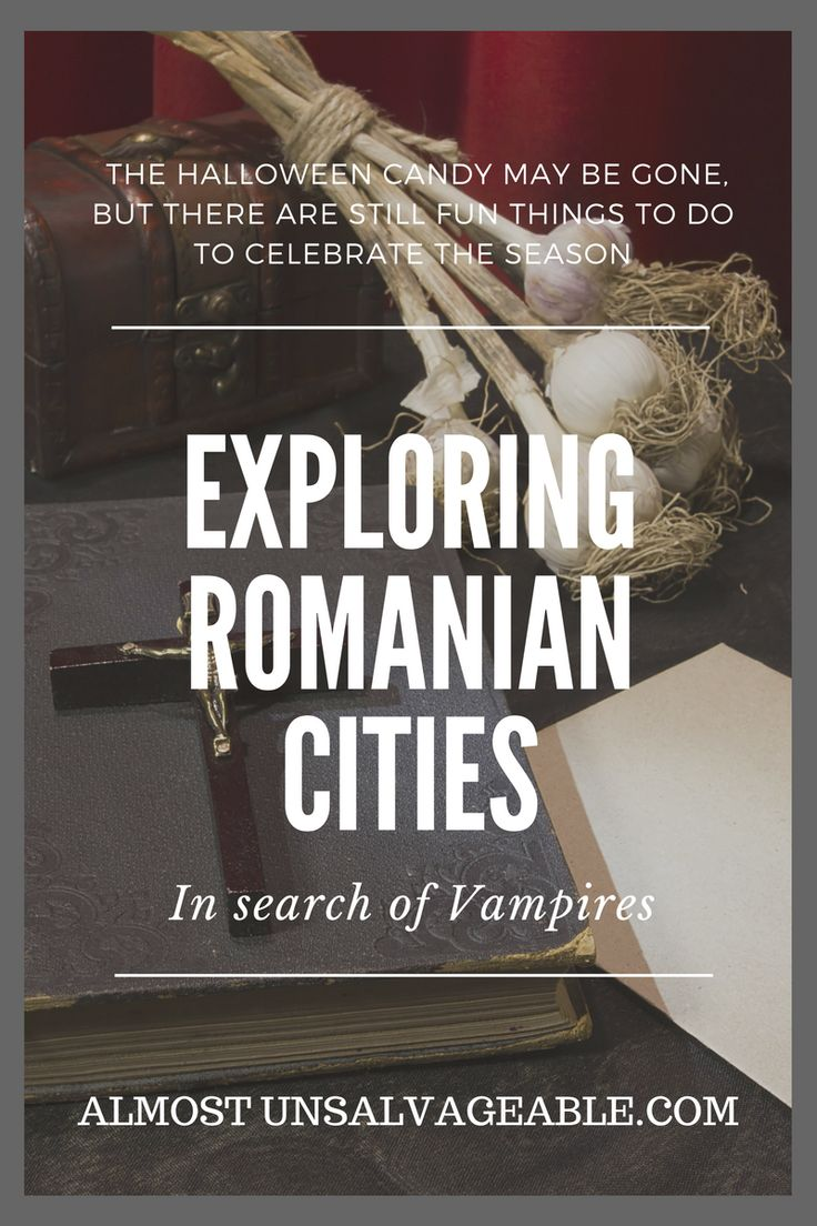 Exploring Romanian cities in search of vampires #AlmostUnsalvageable #travelEurope #Romania #Travel