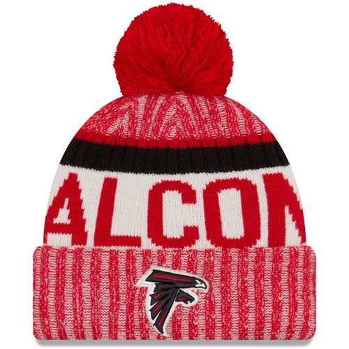 Atlanta Falcons New Season Sports Beanie Cuffed Winter Knit Cap(red)