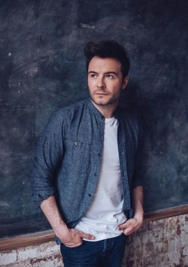 Shane Filan press shots for his upcoming album 'Right Here', September 2015