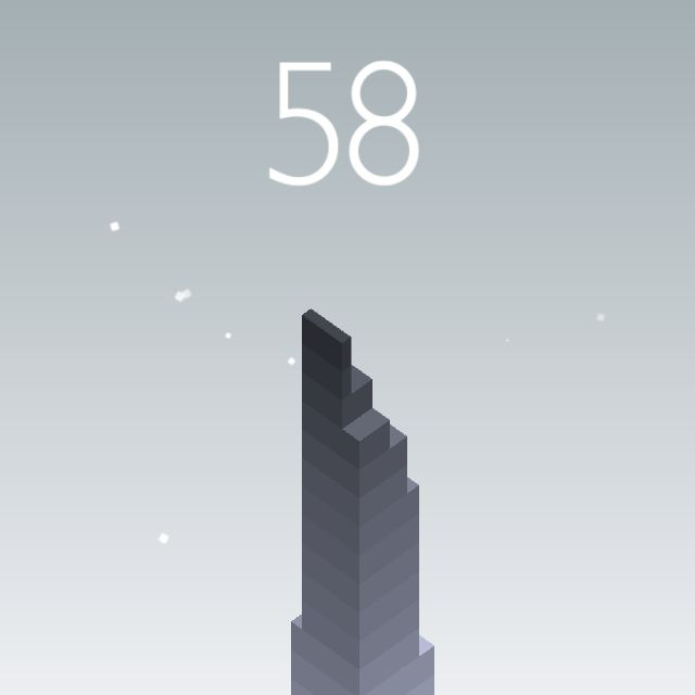 I scored 58 points in #Stack https://itunes.apple.com/app/stack/id1080487957