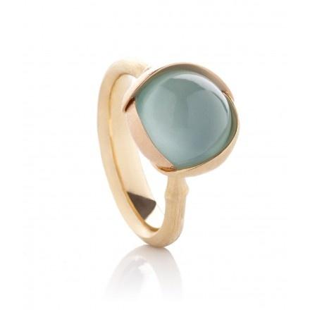 Lotus Aquamarine Ring  BY OLE LYNGGAARD   Elsker denne ringen <3