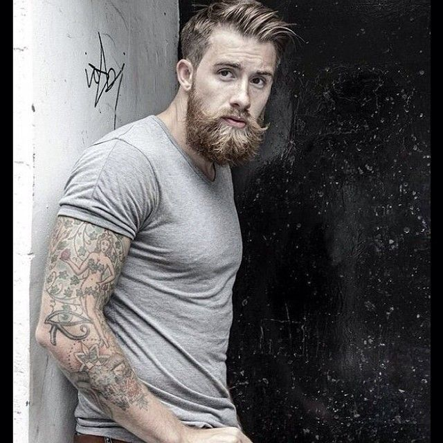 Pin By Michaeln On Beards Pinterest Sexy Sleeve And Grey