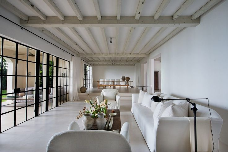 Calvin Klein Is Selling The Most Calvin Klein-esque Home Ever Interior design by Axel Vervoordt