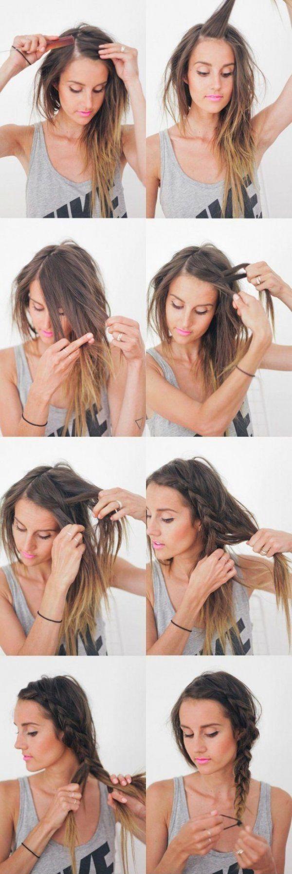 Szybka fryzura krok po kroku! Na pewno nie raz ja wykorzystasz!