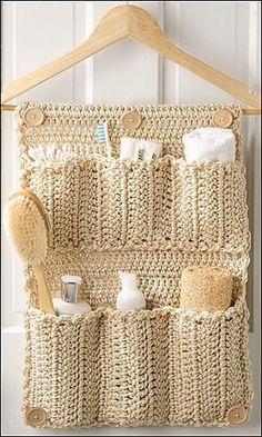 IDEAS PARA EL HOGAR A GANCHILLO   Patrones Crochet, Manualidades y Reciclado