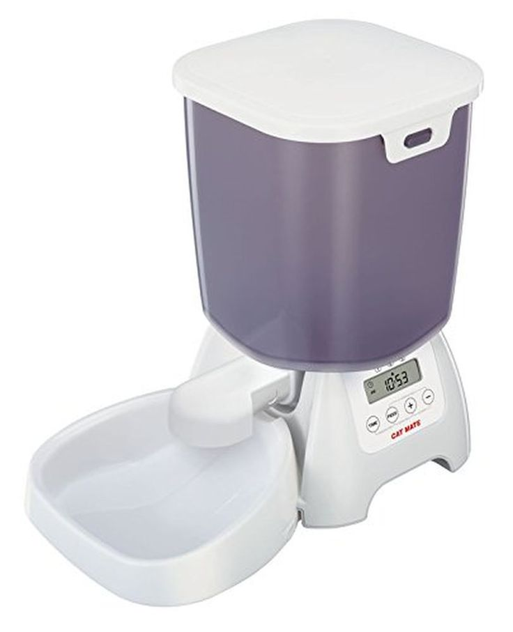 New Automatic Dry Food Pet Feeder Dispenser For Cats & Dogs #CatMate