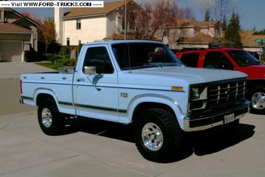 86 4x4 ford truck | 1986 Ford F150 4x4 - '86 Ford | Rides ...