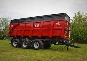 Traktorové návěsy BIG 33.25