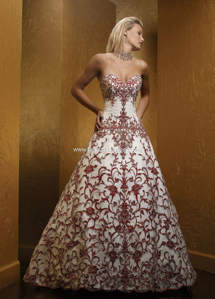 Mia solano couture bridal gowns style m475c description for Color embroidered wedding dress