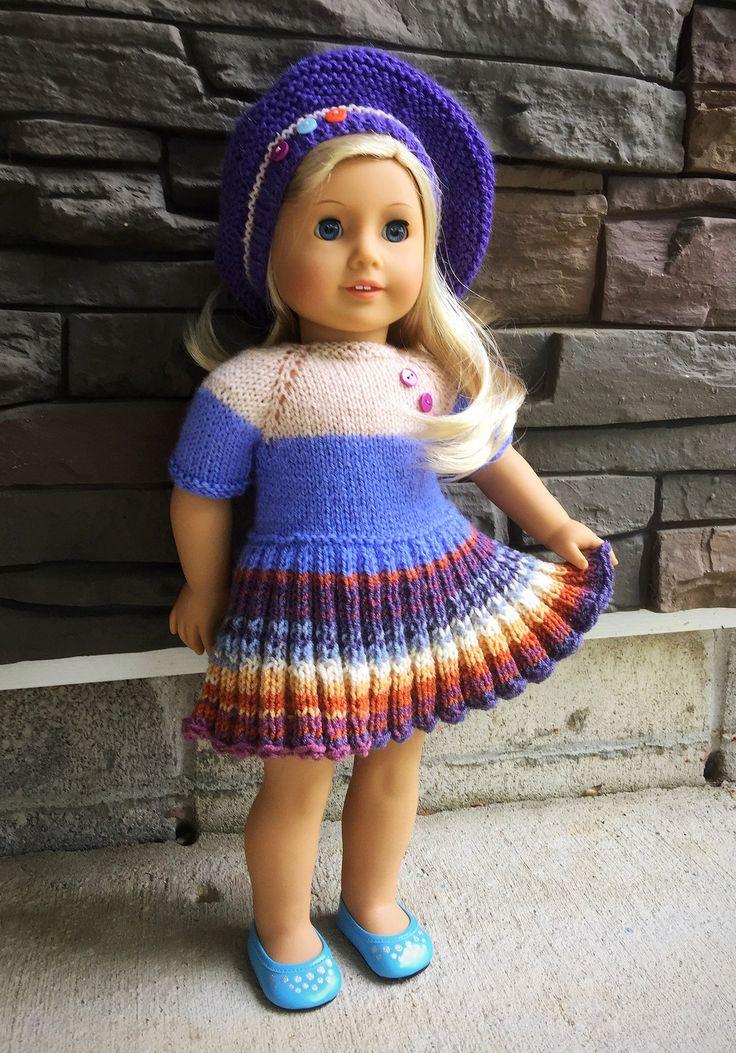 80 besten Puppen Anziehsachen Bilder auf Pinterest | Stricken häkeln ...