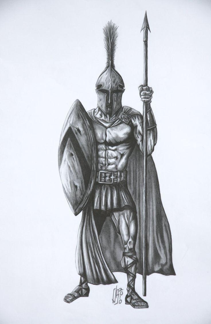 ancient greek warriors tattoos