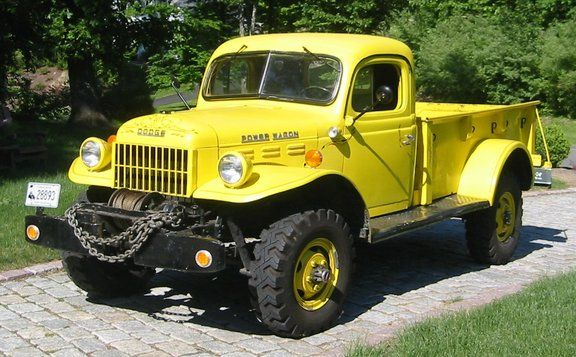 1950 Dodge Power Wagon Maintenance of old vehicles: the material for new cogs/casters/gears/pads could be cast polyamide which I (Cast polyamide) can produce