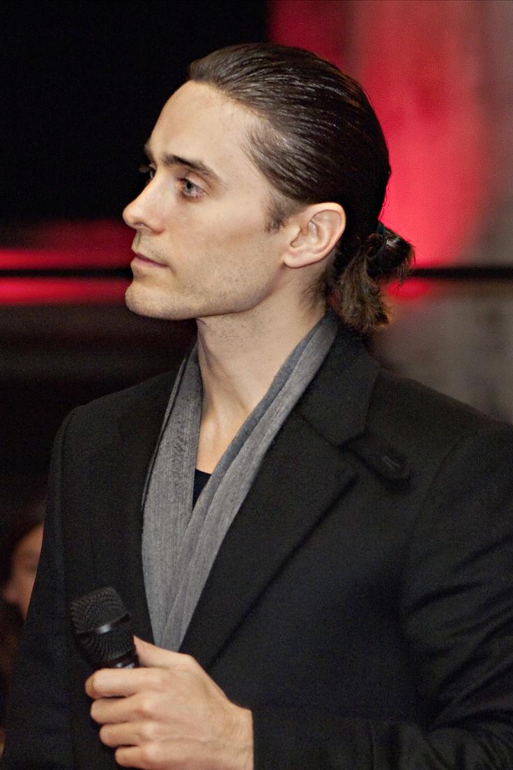 Jared Leto ... love the ponytail