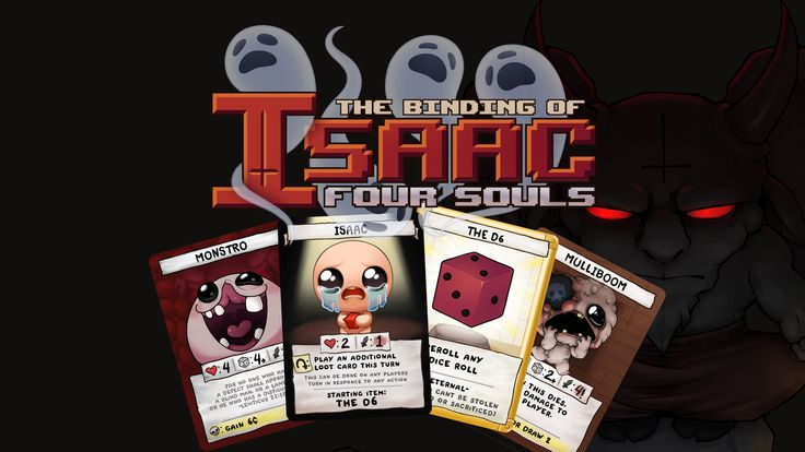 the official binding of isaac multiplayer card game about
