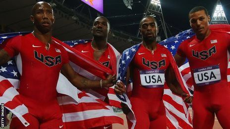 The entire United States 4x100m relay team have been stripped of their London 2012 Olympic silver medals as a consequence of Tyson Gay's drugs ban.