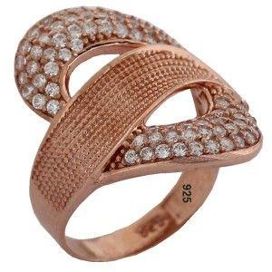 Zirkon taşlı,925 ayar gümüş bayan yüzüğü