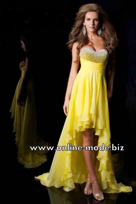 Schone gelbe kleider