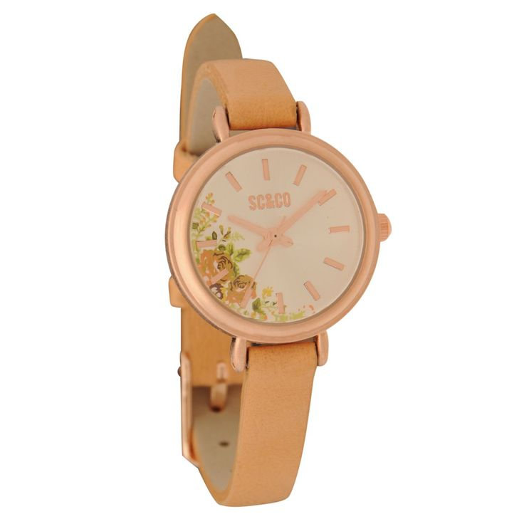 SoulCal | SoulCal Rose Case Watch Ladies | Watches