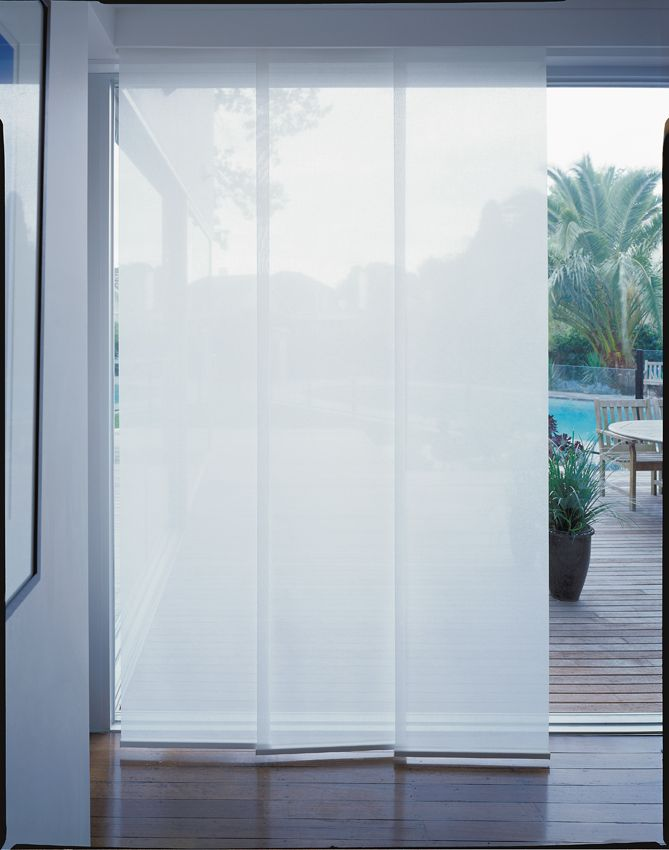 Panel Glide For A Touch Of Modern Sophistication Luxaflex Panel Glide Blinds Offer A