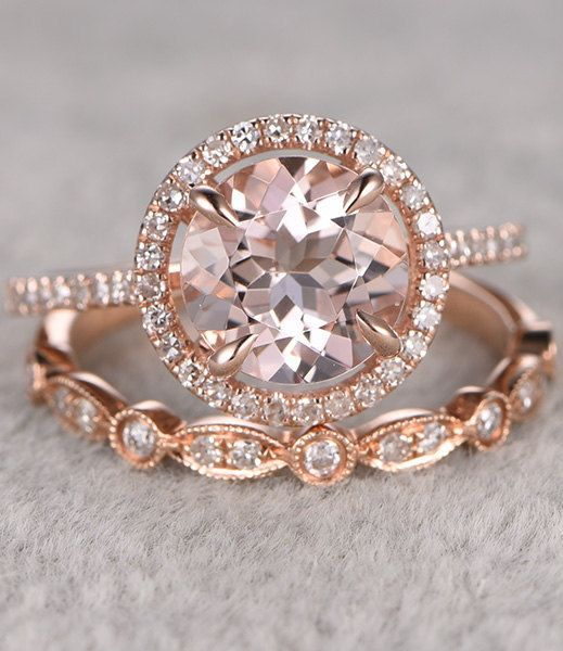 Best 25 Rose gold diamond ring ideas on Pinterest Wedding rings