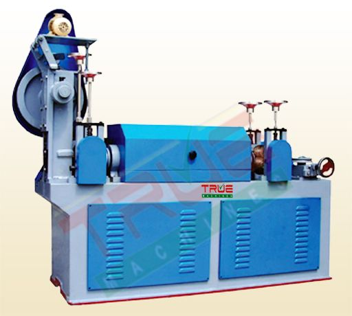 True Aksh Enterprises manufactures and supplies high quality wire straightening and cutting machine that are robustly constructed, long lasting, energy efficient and require minimal maintenance.