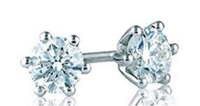Pendientes de Diamantes de 0,50 cts cada uno de calidad G y pureza VS1 y VS2 Jorge Juan Joyeros