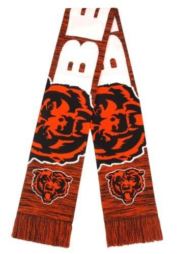 1b644755 Chicago Bears Wordmark Big Logo Colorblend Scarf#Wordmark, #Bears ...