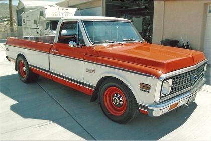 Classic ,chevy cheyenne trucks   1972 Chevy Cheyenne 20 Super - Chevrolet - Chevy Trucks for Sale   Old ...