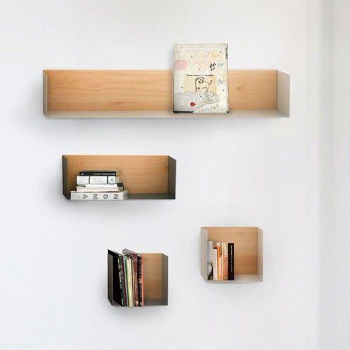 etagere murale u shelf large tag res. Black Bedroom Furniture Sets. Home Design Ideas