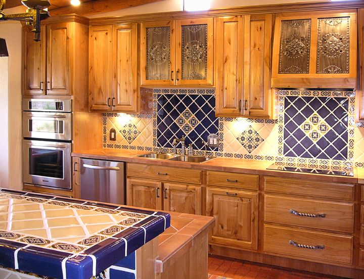 Kitchen project want mexican tiles on countertop and backsplash with saltillo floor dream Kitchen design of tiles