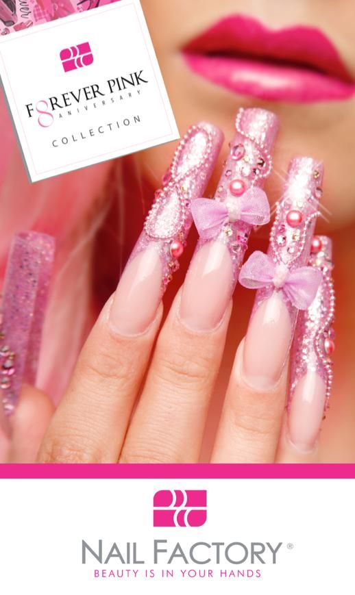 9 best Nails Nail Factory images on Pinterest | Acrylic nail designs ...