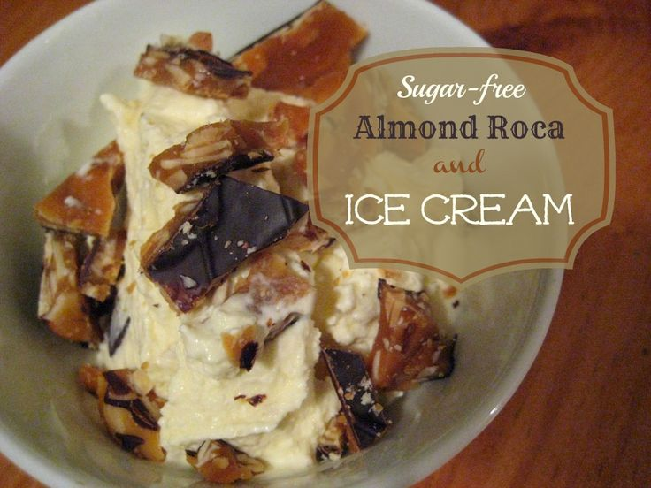 Almond roca ice cream cake recipe