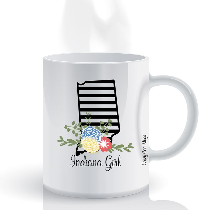 Indiana Girl State Pride Coffee Mug