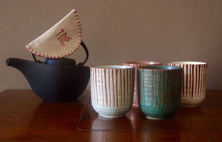 Japan cups by Pols Potten