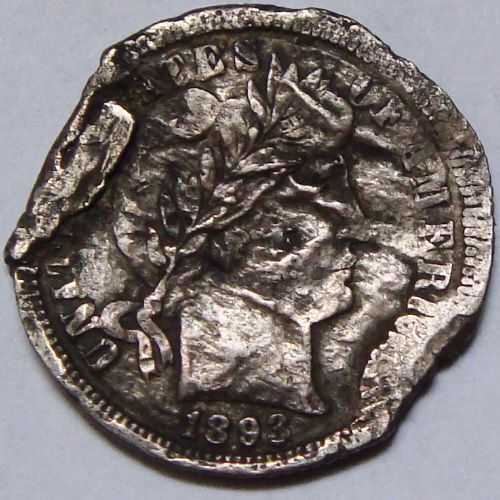 Not Mint Error Coin Images- US Coins With Damage Not Mint Errors